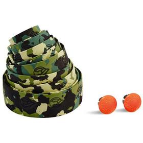 Cinelli Camouflage Ribbon Owijka kierownicy zielony